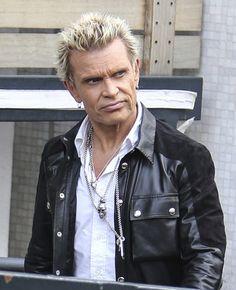 Billy Idol in Billy Idol Arrives at the ITV Studios
