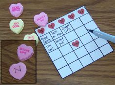 You Have to Play Valentine's Day Bingo: Get the cards and bingo hearts ready.