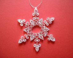 Regalo personalizzato di ornamento quilled di ForeverFiligree
