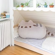 is holding a giveaway for this amazing jumbo-sized Pusheen plush! ↖️Visit link in bio to find out how you can enter! Pusheen Cat Plush, Gato Pusheen, Pusheen Love, Pusheen Shop, Pusheen Stuff, Pusheen Pillow, Pusheen Gifts, Girls Bedroom, Bedroom Decor