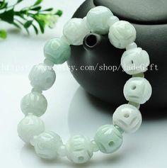 Free shipping  jade gift AAA grade natural jade beads by jadeGift, $26.99