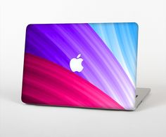 """The Radiant Color-Swirls Skin Set for the Apple MacBook Pro 15"""" with Retina Display from Design Skinz"""
