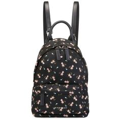 Givenchy Nano Smooth Leather Backpack (13.194.720 IDR) ❤ liked on Polyvore featuring bags, backpacks, multi, zip top bag, rucksack bags, pattern bag, print bags and knapsack bag