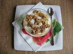 Griekse yoghurt, honing en walnoten