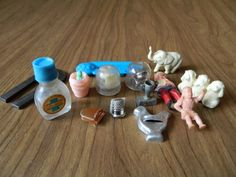 Prizes, Cracker Jack Toys, Bubble Gum Machine Lot of 14 Misc. Toys Small