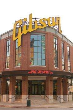 Gibson Guitar Factory-- Next stop... Memphis! The smell of wood is out of this world. Been there last summer on a factory tour!