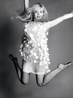 elle fanning - 60's look - marie claire