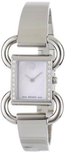 Movado Women's 0606473 Linio Stainless-Steel Diamond-Set Case Black Dial Bangle Watch Movado, http://www.amazon.com/dp/B004UC6G1Q/ref=cm_sw_r_pi_dp_SHGrrb0GH5ND1