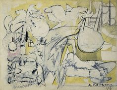 Willem de Kooning (1904-1997)Special Delivery (1946)Hirshhorn Museum and Sculpture Garden, Washington, DC, USA