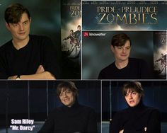 Sam Riley : PPZ Interview Love Sam, I Love Him, Best Love Stories, Love Story, Sam Riley, Pride And Prejudice And Zombies, Marquess, Mr Darcy, Pride And Prejudice