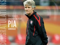 Pia Sundhage, 2012 FIFA Coach of the Year