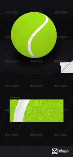 Related Products Tennis Ball 3D Render 3D render of Tennis Ball. Drop Shadow is optional.
