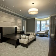 Glamor Bedroom Design Ideas, Pictures, Remodel, and Decor - page 2