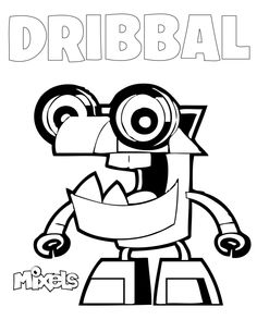 27 Best Mixels Images Printable Coloring Pages Coloring Pages