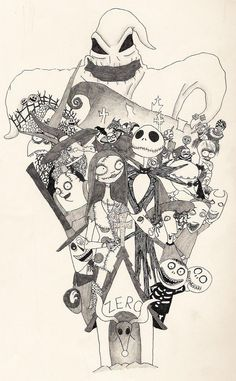 Nightmare Before Christmas Tat by ~Scumm-Green on deviantART