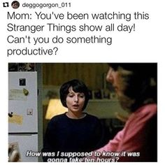 """1,180 Likes, 19 Comments - Stranger things ❤❤❤ (@millieeggobrown) on Instagram: """"Yup meeeeee  i literally watched the whole thing in one day. #strangerthings#milliebobbybrown…"""""""