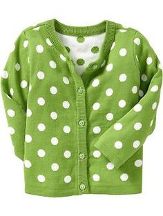Old navy, you are killing  me with cuteness. Printed Cardis for Baby | Old Navy