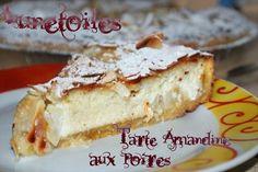 tarte amandine aux poires 1