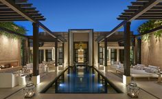 The Mandarin Oriental group have set foot in Africa with a property in Marrakech, just 10 minutes' drive from the medina.