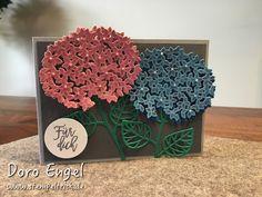 Stampin' Up!, Wald der Worte, Hydrangeas, Hortensien, Thoughtful Branches