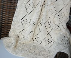 Free Easy Knitted Dishcloth Patterns : 1000+ images about Knitted Baby Shawls & Blankets on Pinterest Baby sha...