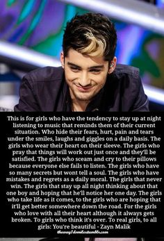 Absolutely love this quote my gosh. The sad thing is the guys I want to notice me are the 5 best and most popular band in the world. But I am truly, madly, deeply in love with them.