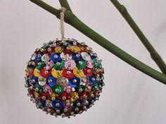 Vánoční tvoření s dětmi - Koule z flitrů