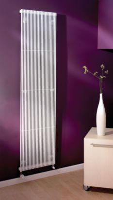 Acova Striane Vertical Radiator White, (W)195 ¿ (H)1000mm, 3566550018843