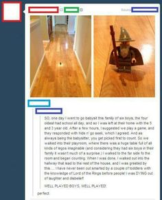 Hahaha, I love it! xD I started laughing before I even read the backstory!