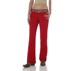 Red Bootcut Jeans - Xtellar Jeans
