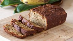 Paleo Banana Bread (grain/gluten/dairy-free) by #LivingHealthyWithChocolate