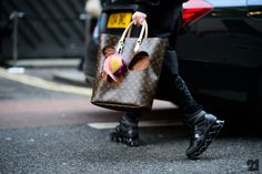 Rei kawakubo bag for Louis Vuitton Iconoclasts