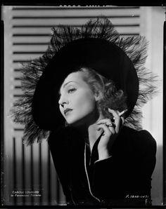 "hollyhocksandtulips: "" Carole Lombard, 1930s """