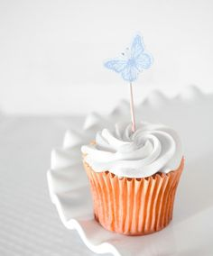 butterfly cupcake picks...simple!