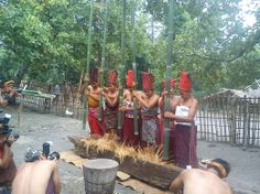 Bayan village daily life: Their culture hails from the Majapahit Hindu Kingdom of the 14th century. (Photo courtesy of B...