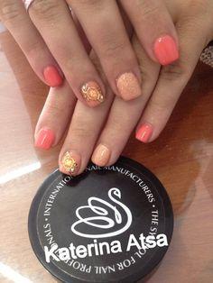 Inm acrylic nails   Gelavish   Ακρυλικό με ημιμονιμο βαφή   Υγρές πέτρες   @inmnails