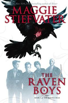 Young adult books to read (that will give you the creeps!) including The Raven Boys by Maggie Stiefvater.