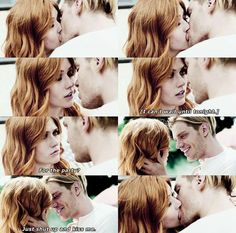 Shut up and kiss me #Clace