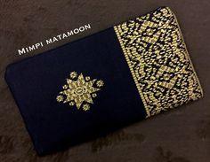 Sarawak Batik-Songket Print #mimpimatamoon #pouch #handmadeinmalaysia #madeinmalaysia Mediumlong RESERVED