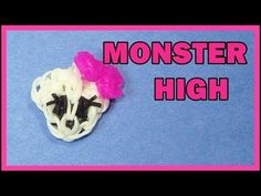 ▶ Rainbow Loom Monster High SKULL charm. Designed and loomed by DIYMommy. Click on photo for YouTube tutorial. 03/28/14