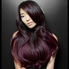 #red wine, #mahogany, or #cranberry tones. Guy Tang Hair Artist