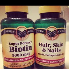 What I used to make my hair grow LONG! :)...what one pinner said! May try this combo!