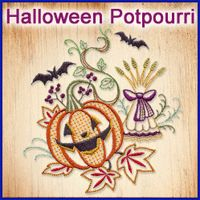 Halloween Potpourri Design Pack