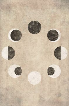 New Ideas Tattoo Moon Phases La Luna Sacred Geometry Moon Phases Art, Tattoo Mond, New Moon Rituals, Moon Print, Cycling Art, Art Plastique, Stars And Moon, Sacred Geometry, Constellations