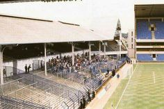 White Hart Lane - The old North Stand. Football Images, Uk Football, Football Pictures, Football Stadiums, Vintage Football, Football Stuff, Newcastle United Football, Nostalgic Pictures, Bristol Rovers