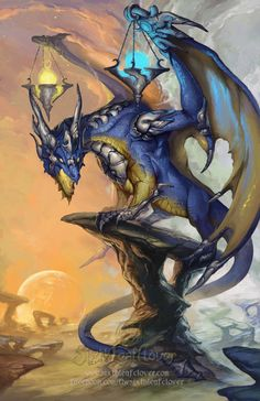 Libra - 2014 Zodiac Dragons  by The-SixthLeafClover deviantart