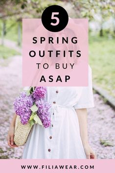 We will show you the best spring outfits here.  All kinds of woman spring outfits: casual, for school, cute as well as dressy spring outfits- too good to miss out!  Stay inspired & shop these look to nails the spring fashions, xoxo:)  #springoutfits #springoutfitinspiration #cutespringclothes #springclothings