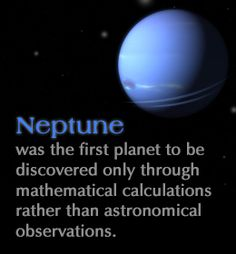 facts about neptune the planet how was neptune discovered how did