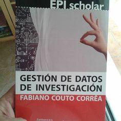 Reseña por Juanjo Boté de Gestión de Datos de Investigación de Fabiano Couto Gd, Pocket Books, Management