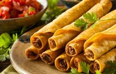My son has some favorite foods that he'll always pick over the others. One of his most favorites is Easy Oven-Baked Taquitos.